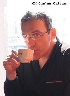 Гроссмейстер Цвитан повлиял на историю шахмат Эстонии. Март 2006, Загреб. Фото Валерия Голубенко